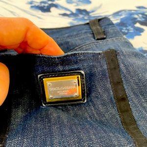 Dolce & Gabbana blue straight jeans